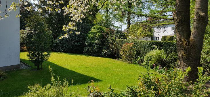 Einliegerwohnung in feinster Villenlage: separater Eingang, eigener Gartenteil und Terrasse!