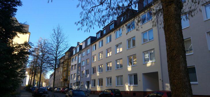 Dachterrasse mit interessanter Wohnung in begehrter Lage von Rüttenscheid! (VERKAUFT)