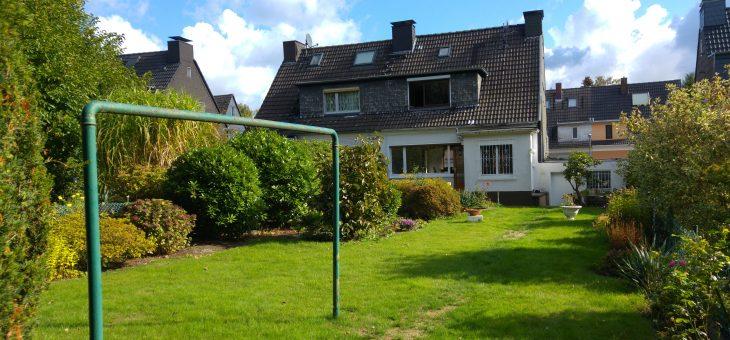 E-Frillendorf: Entzückende, kernsanierungsbedürftige DHH in familienfreundlicher Lage! (VERKAUFT)